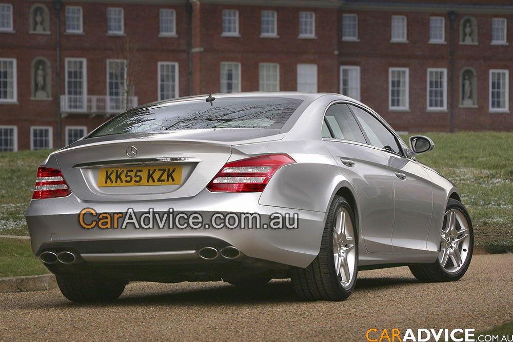 2011 Mercedes Benz CLS. CLS II and S400 Hybrid models will make use of