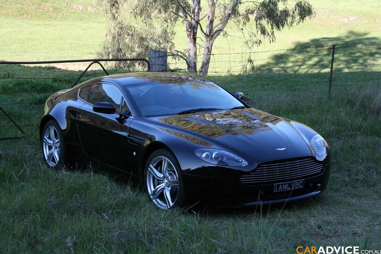 2009 Aston Martin V8 Vantage Coupe Review Idea