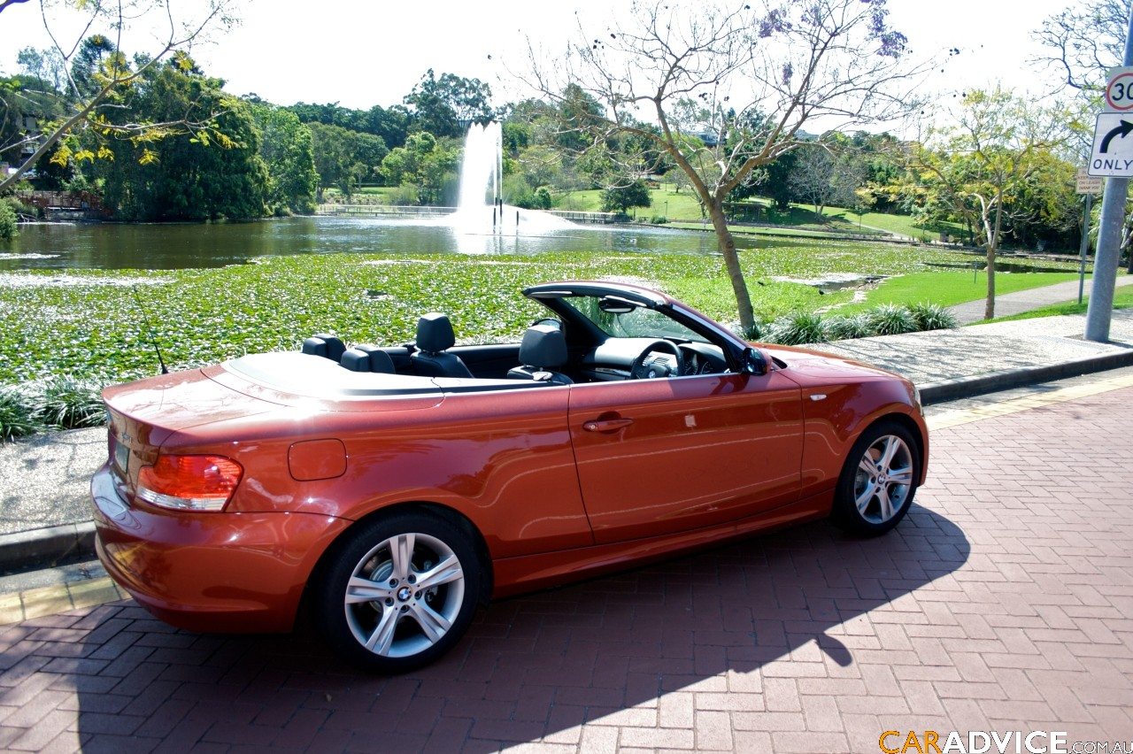 2008 bmw 125i convertible review caradvice. Black Bedroom Furniture Sets. Home Design Ideas