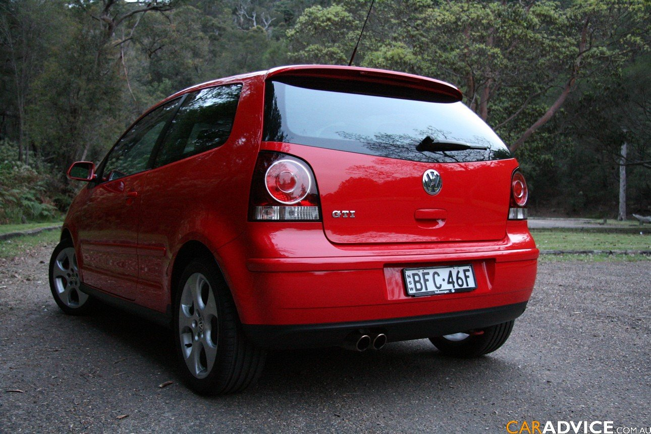 2008 volkswagen polo gti review caradvice. Black Bedroom Furniture Sets. Home Design Ideas