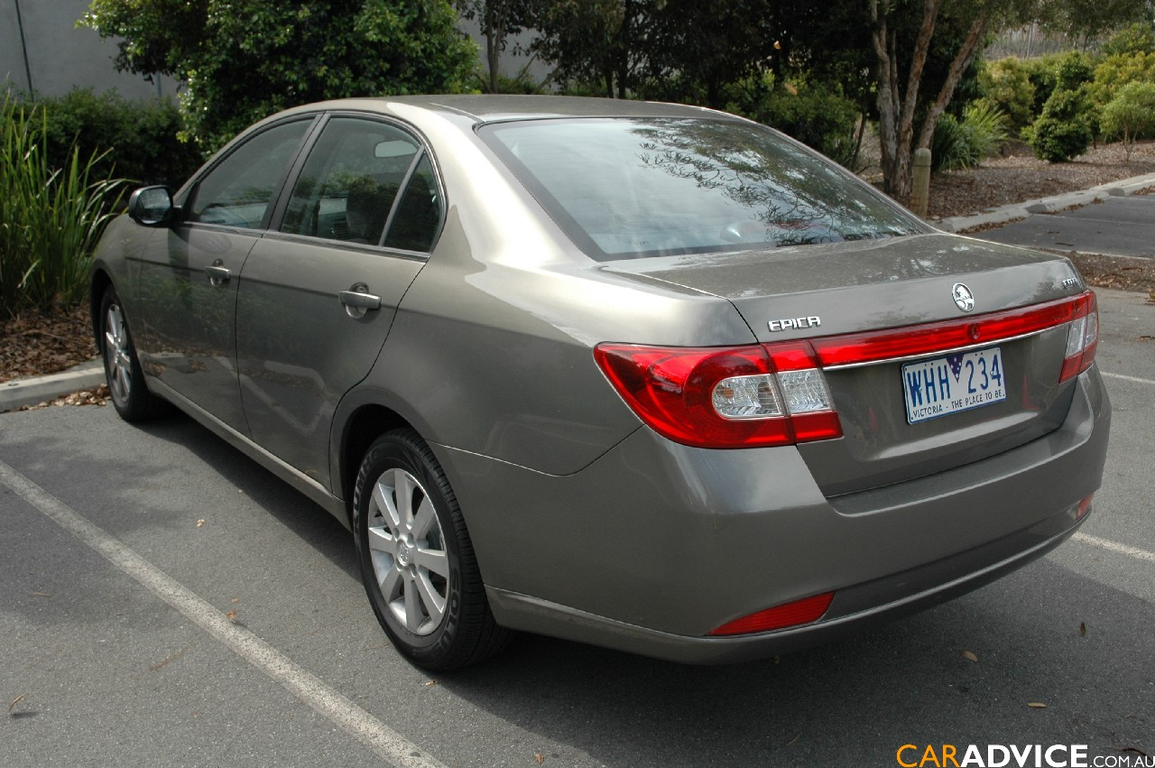 2008 Holden Epica CDXi Diesel Review - photos | CarAdvice