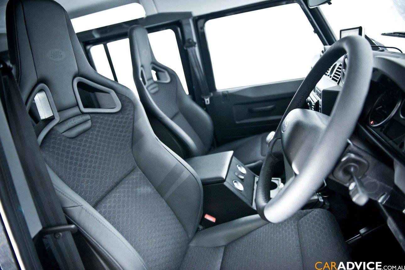 Land Rover Monterey >> 2008 Land Rover Defender SVX Review - photos | CarAdvice