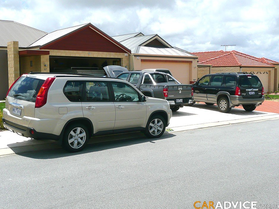2008 nissan x trail off road review caradvice. Black Bedroom Furniture Sets. Home Design Ideas