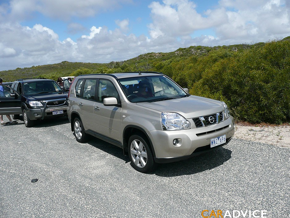 2008 nissan x trail off road review photos caradvice. Black Bedroom Furniture Sets. Home Design Ideas
