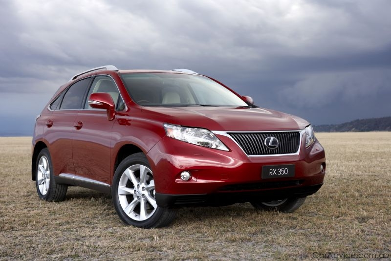 2009 lexus rx 350 details and pricing photos caradvice. Black Bedroom Furniture Sets. Home Design Ideas