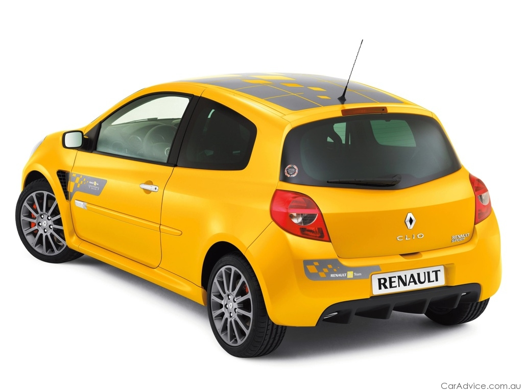 2009 renault clio sport f1 team r27 at mims photos caradvice. Black Bedroom Furniture Sets. Home Design Ideas