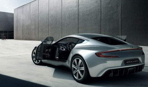 Aston Martin One-77 technical showcase