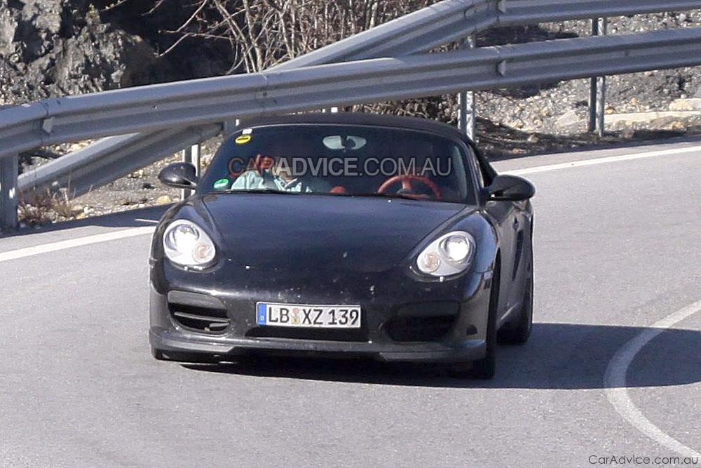 2010 Porsche Boxster Speedster Spied Photos Caradvice