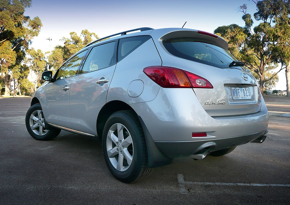 2009 nissan murano review road test caradvice. Black Bedroom Furniture Sets. Home Design Ideas