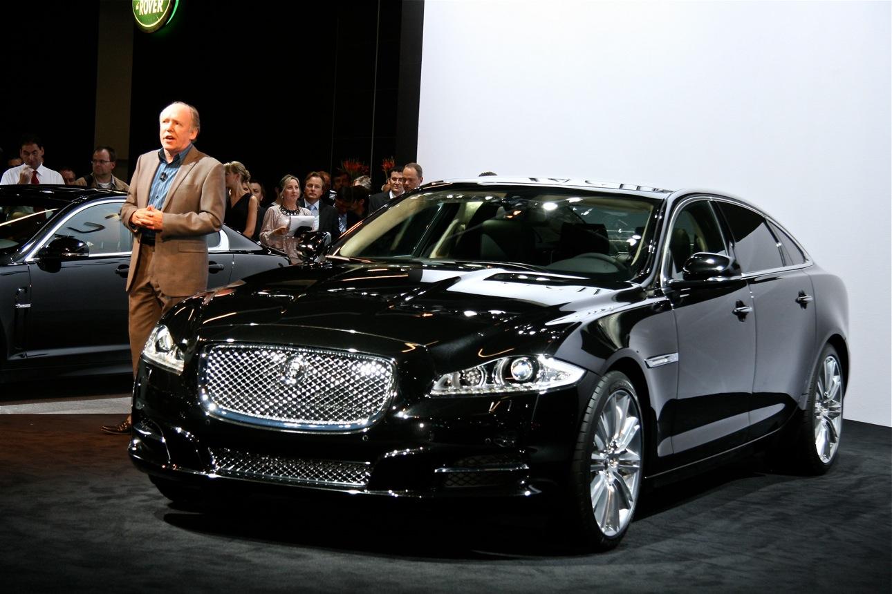 jaguar xj at frankfurt motor show