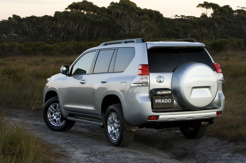 2010 Toyota Landcruiser Prado Off Road Technology Details