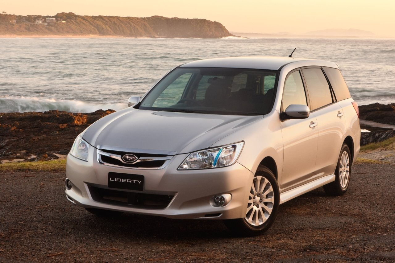 2010 Subaru Liberty Exiga - Photos
