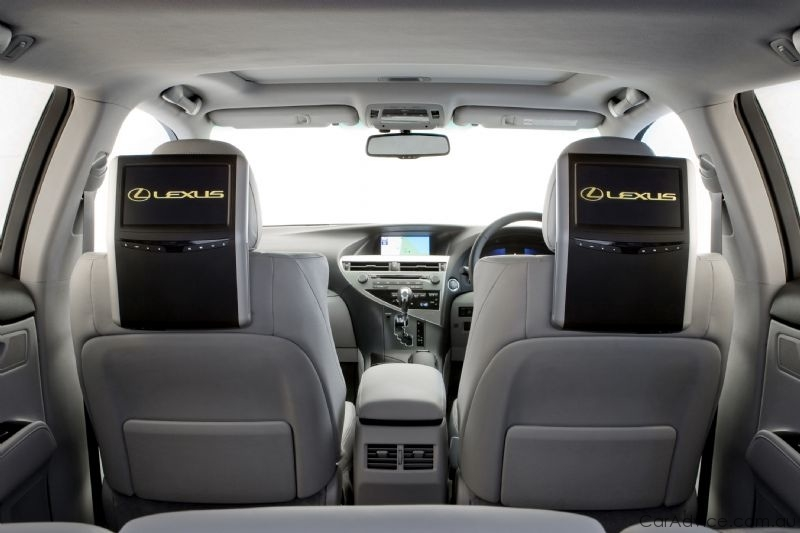 Lexus Introduces Premium Rear Seat Entertainment Photos