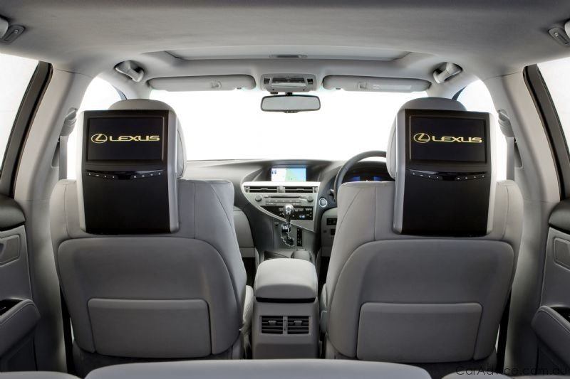 Lexus introduces premium rear seat entertainment - photos ...