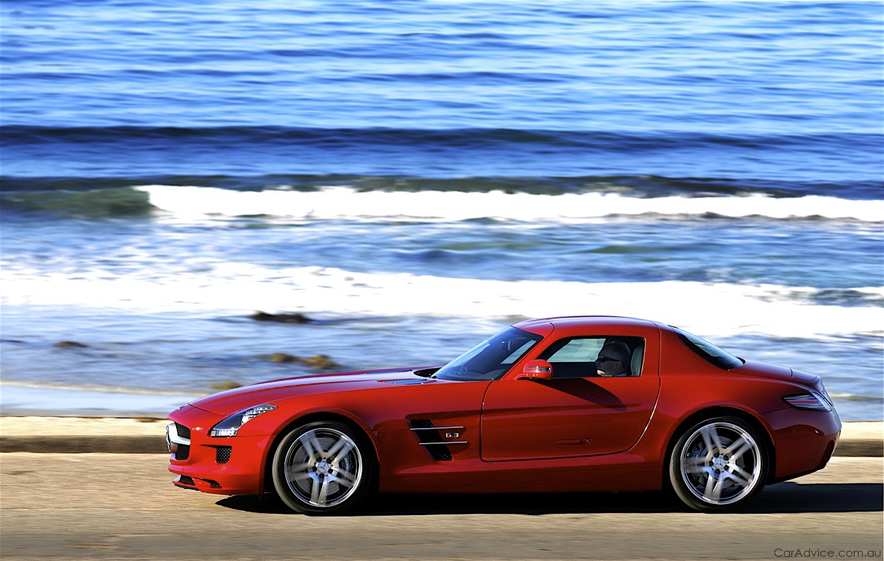 mercedes benz sls amg review caradvice. Black Bedroom Furniture Sets. Home Design Ideas