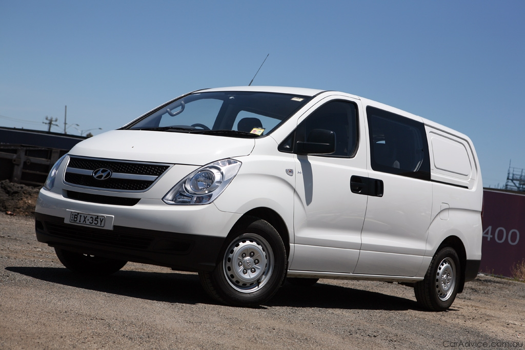 Hyundai Iload Crew Van Review Amp Road Test Photos Caradvice