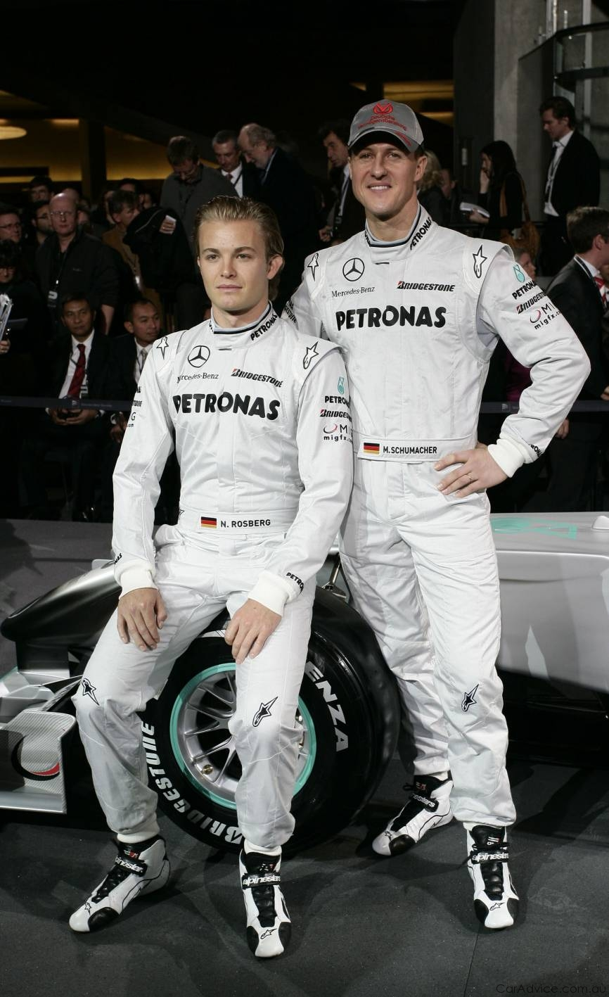 Santa Fe Suv >> Mercedes-Benz presents Mercedes GP Petronas F1 team - photos | CarAdvice