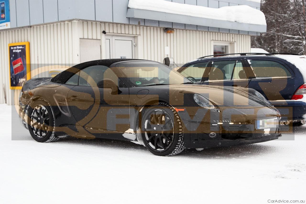2011 Porsche 911 Spy Photos Photos Caradvice