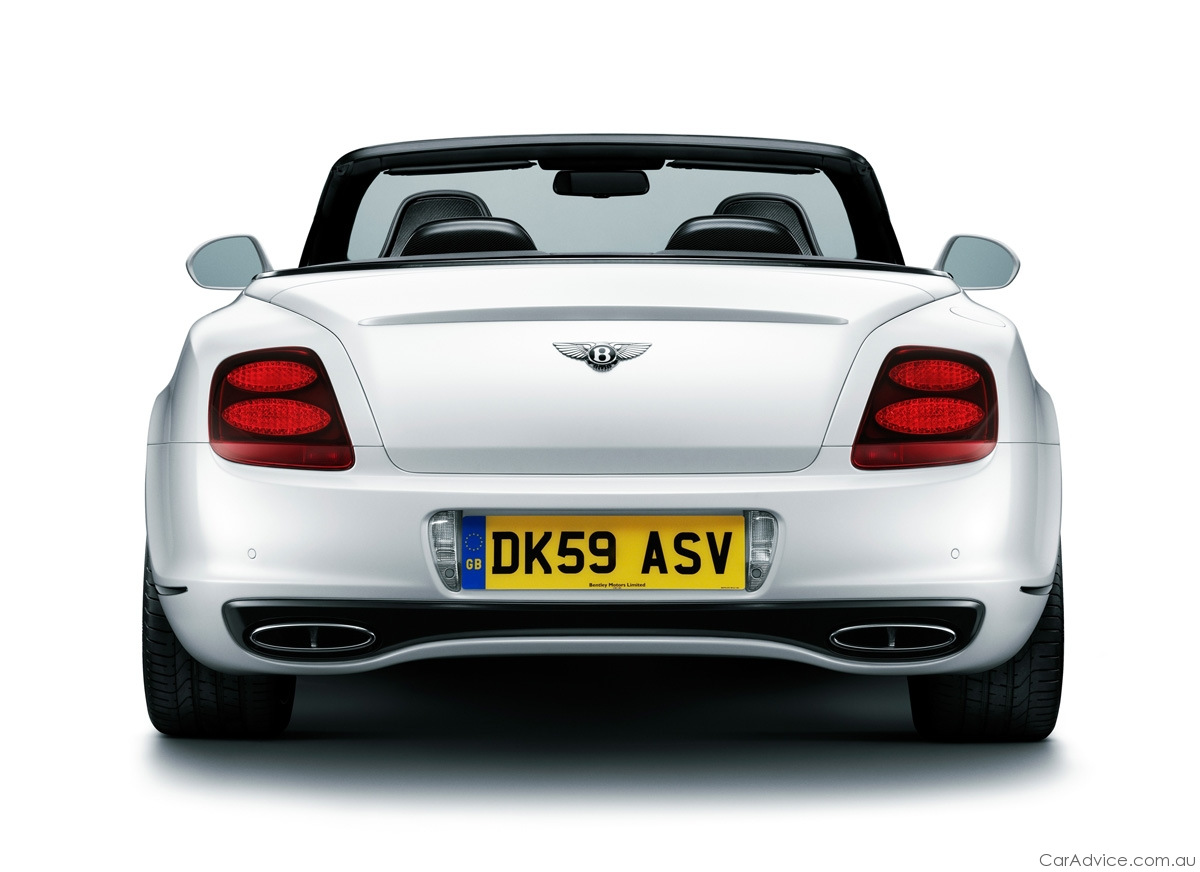 2011 Bentley Continental Supersports Convertible - photos ...