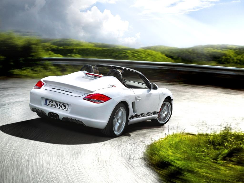 2010 Porsche Boxster Spyder Unleashed Photos Caradvice