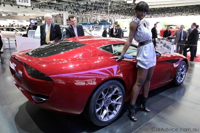 Zagato Perana Z-One at Geneva Motor Show - photos | CarAdvice