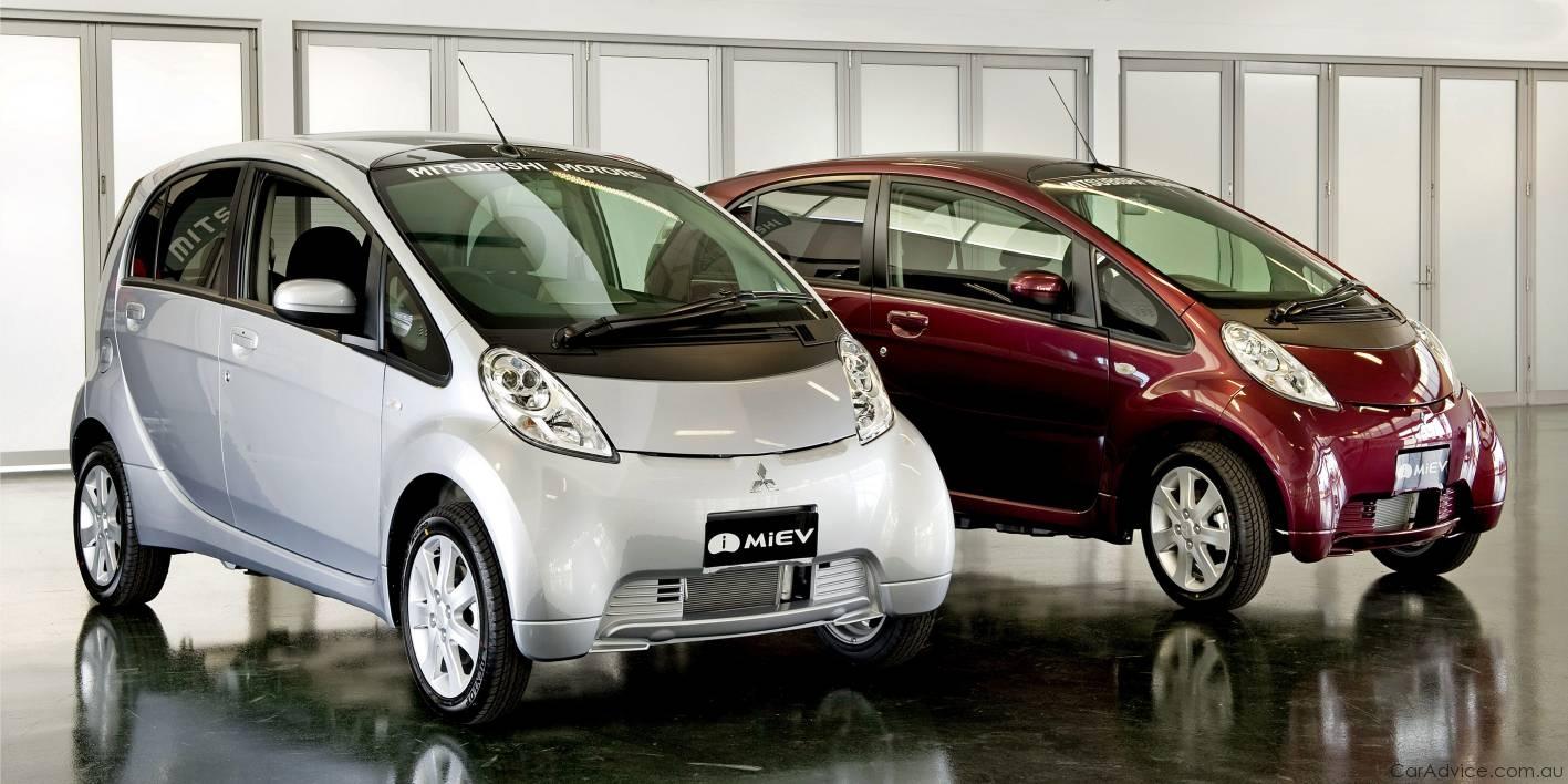 Mitsubishi i MiEV Review - driving an Electric Car ...