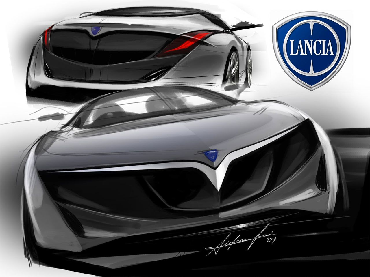lancia design sketches  caradvice