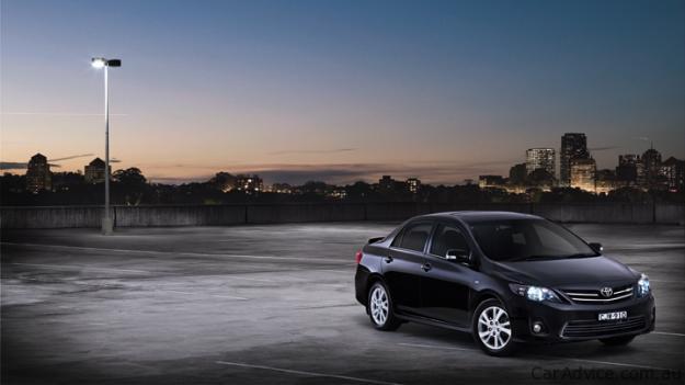 2010 Toyota Corolla Sedan Updated For Australia Photos