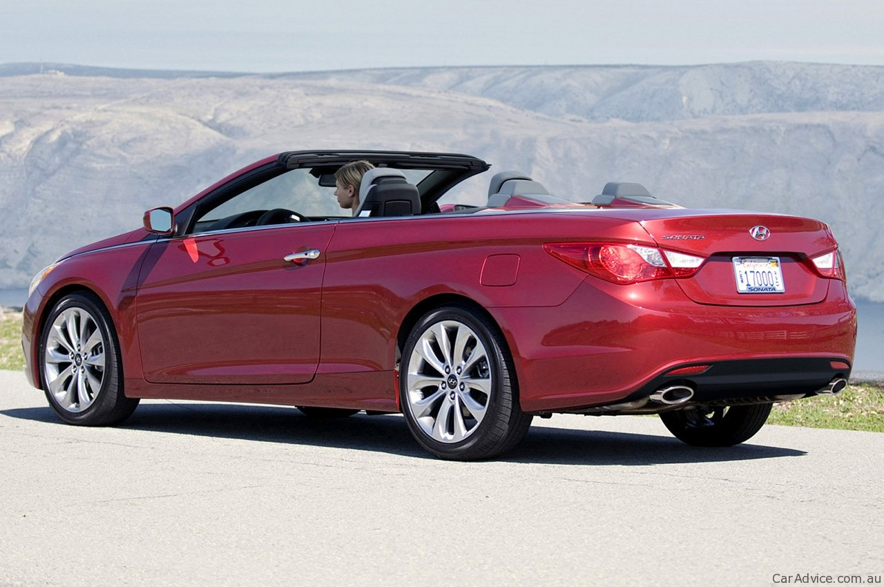 2011 Hyundai I45 Convertible Speculation Photos Caradvice