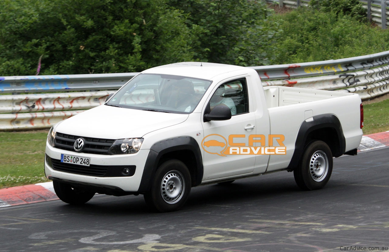 Volkswagen Amarok single cab ute at the 'Ring - photos ...