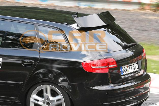 2011 Audi RS3 spied with possible air brake - photos ...