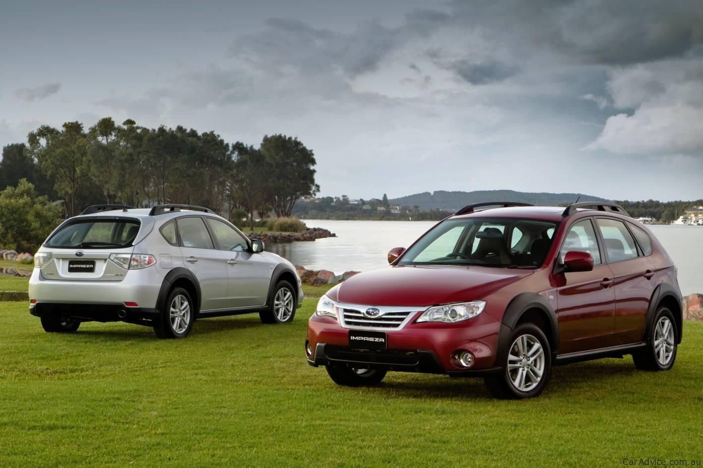 2010 Subaru Impreza Xv Launched In Australia Photos