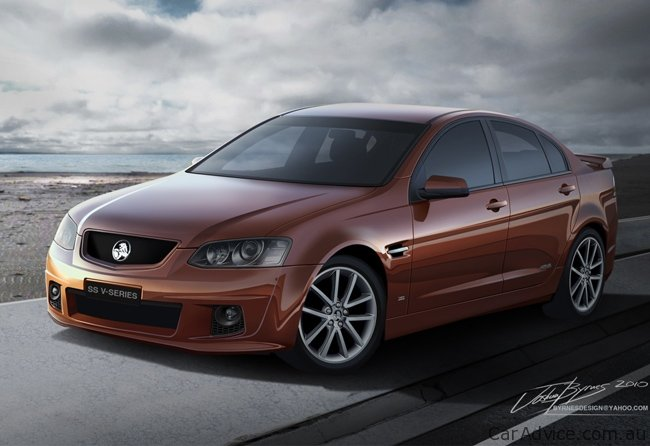 Holden Commodore Ve2 Ss V Series And Interior Revealed