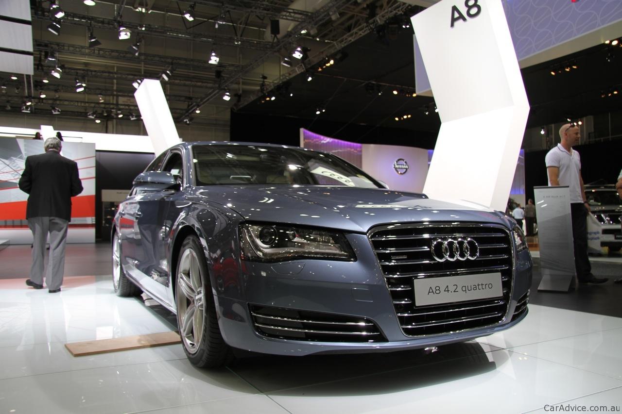 Audi A8 L At 2010 Aims Photos Caradvice
