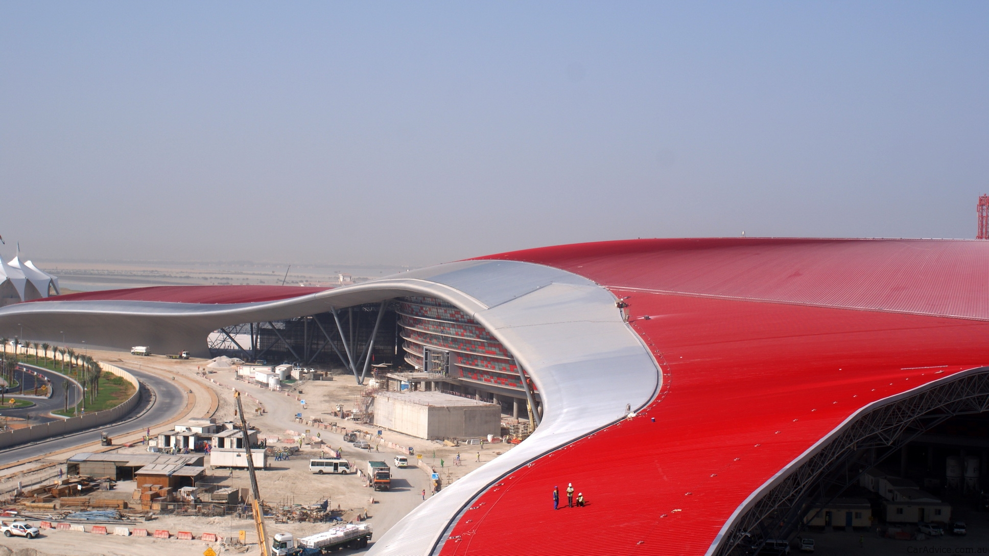Video Ferrari World Abu Dhabi Opens To Public Photos Caradvice