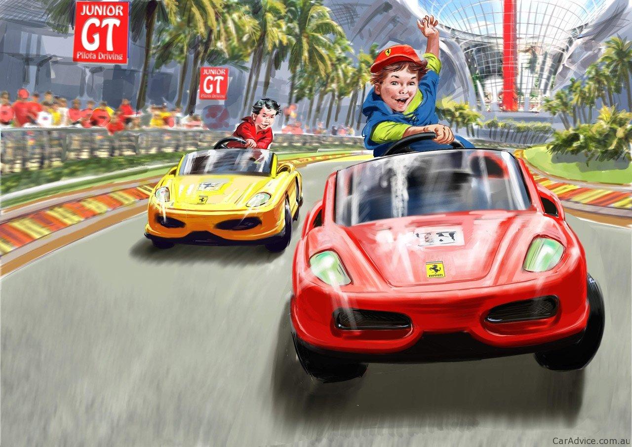 Video: Ferrari World Abu Dhabi opens to public - photos ...