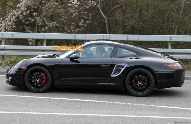 2012 Porsche 911 Spy Shots Photos Caradvice