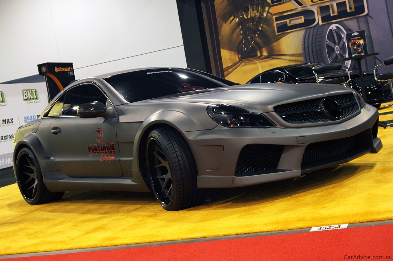 Mercedes Benz Sl65 Amg Black Series By Platinum