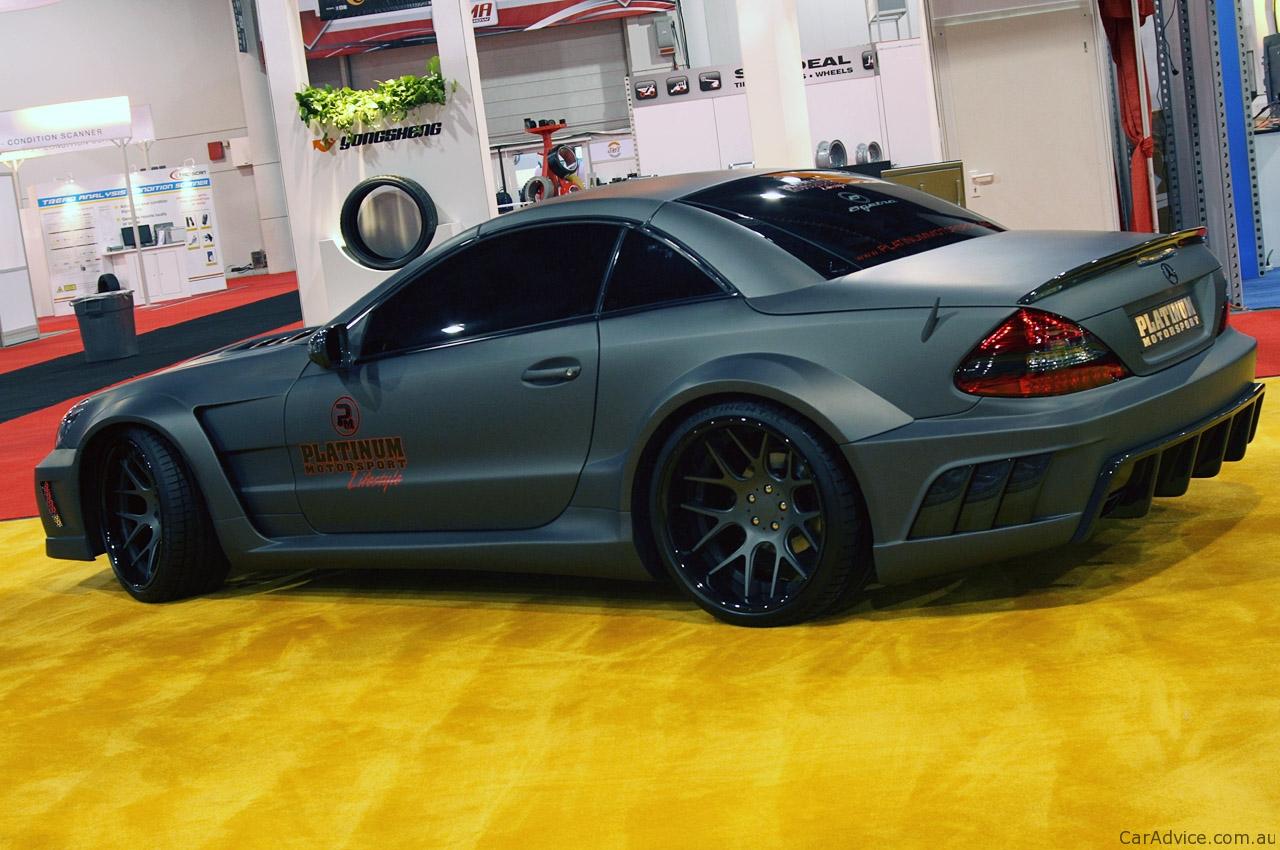 Mercedes Benz Sl65 Amg Black Series By Platinum