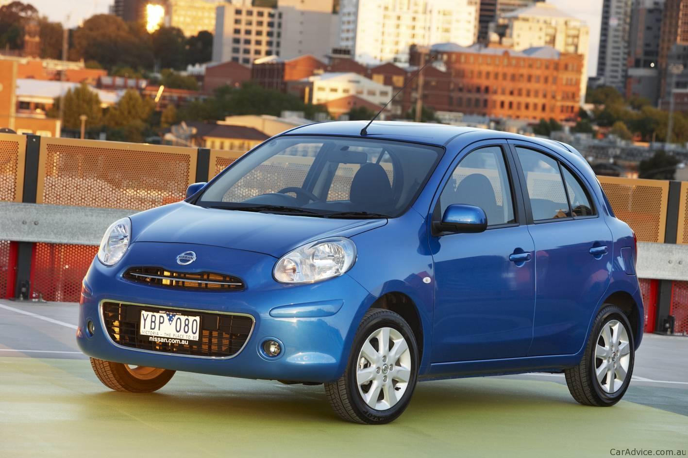 Nissan Micra Blue on 2006 Hyundai Tucson Blue