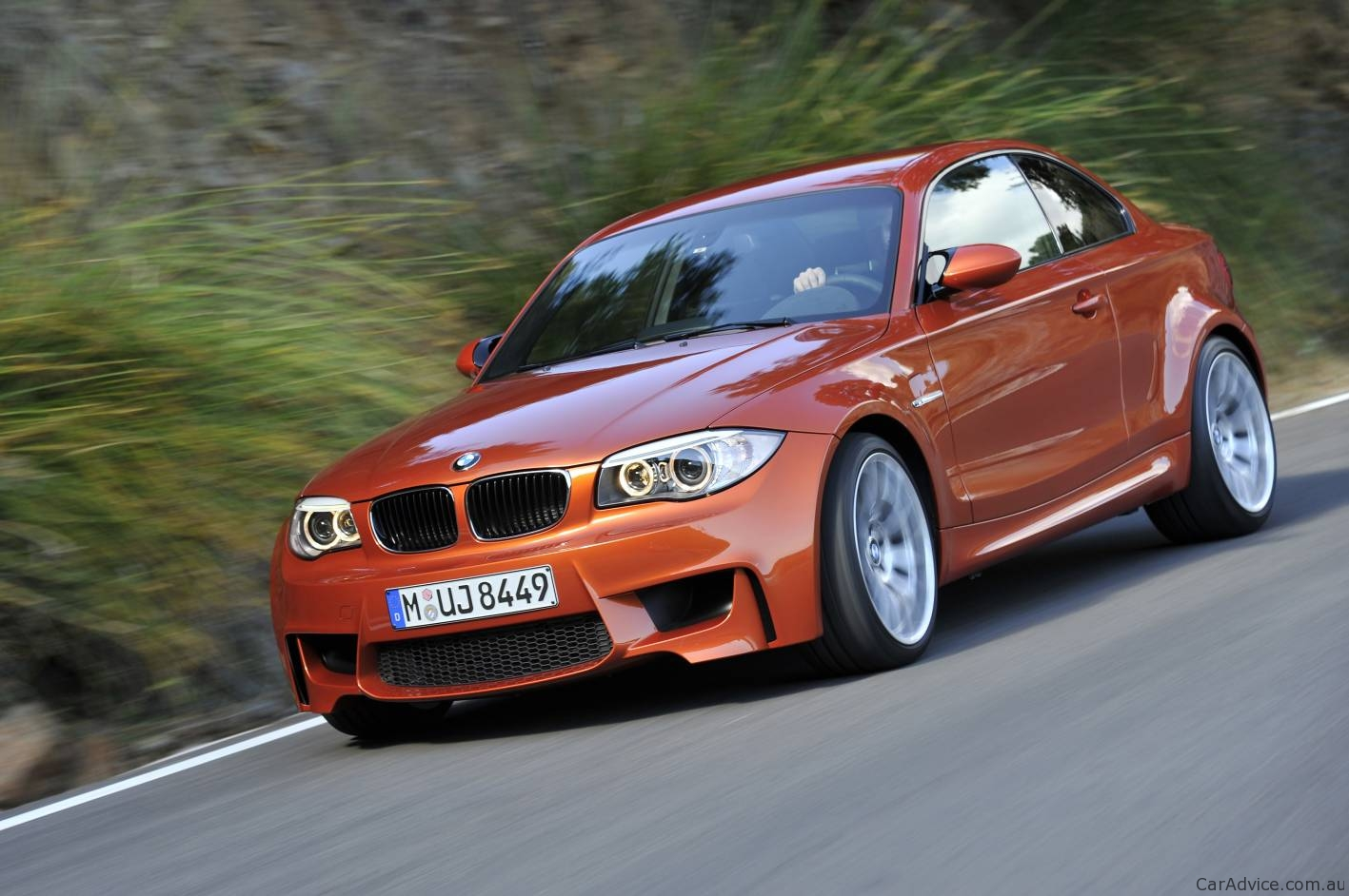 BMW Series M Coupe Unveiled In Detail Photos Of - Bmw 1 series usa