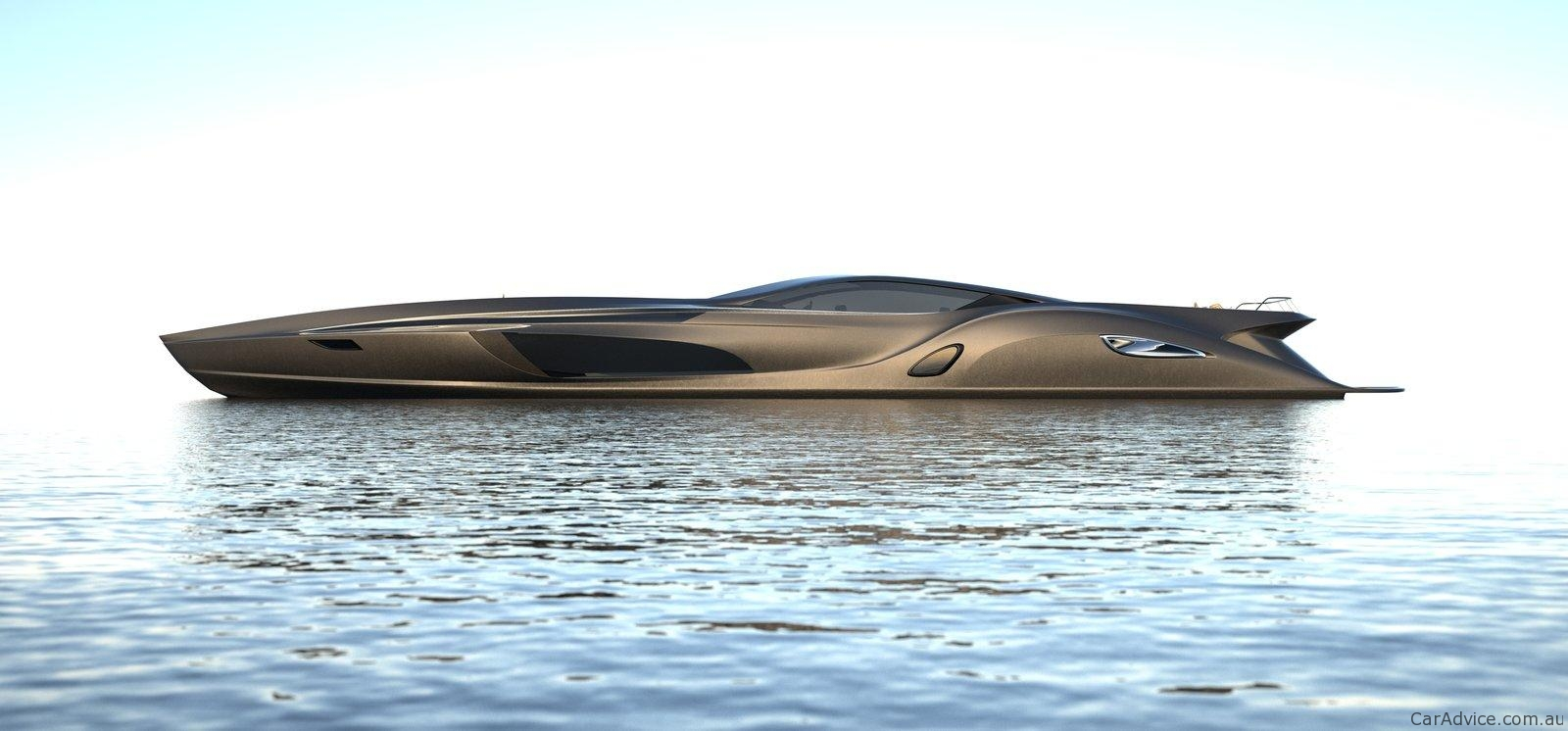 Strand Craft 166 By Grey Design Superyacht With Supercar