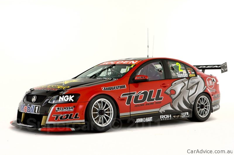 2011 Toll Holden Racing Team Commodore Unveiled Photos
