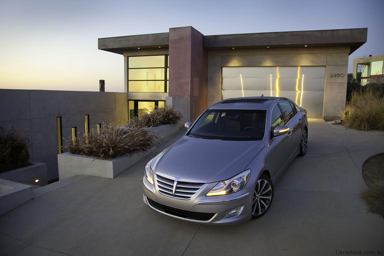 Hyundai Genesis 5.0 Litre V8 R Spec Preview