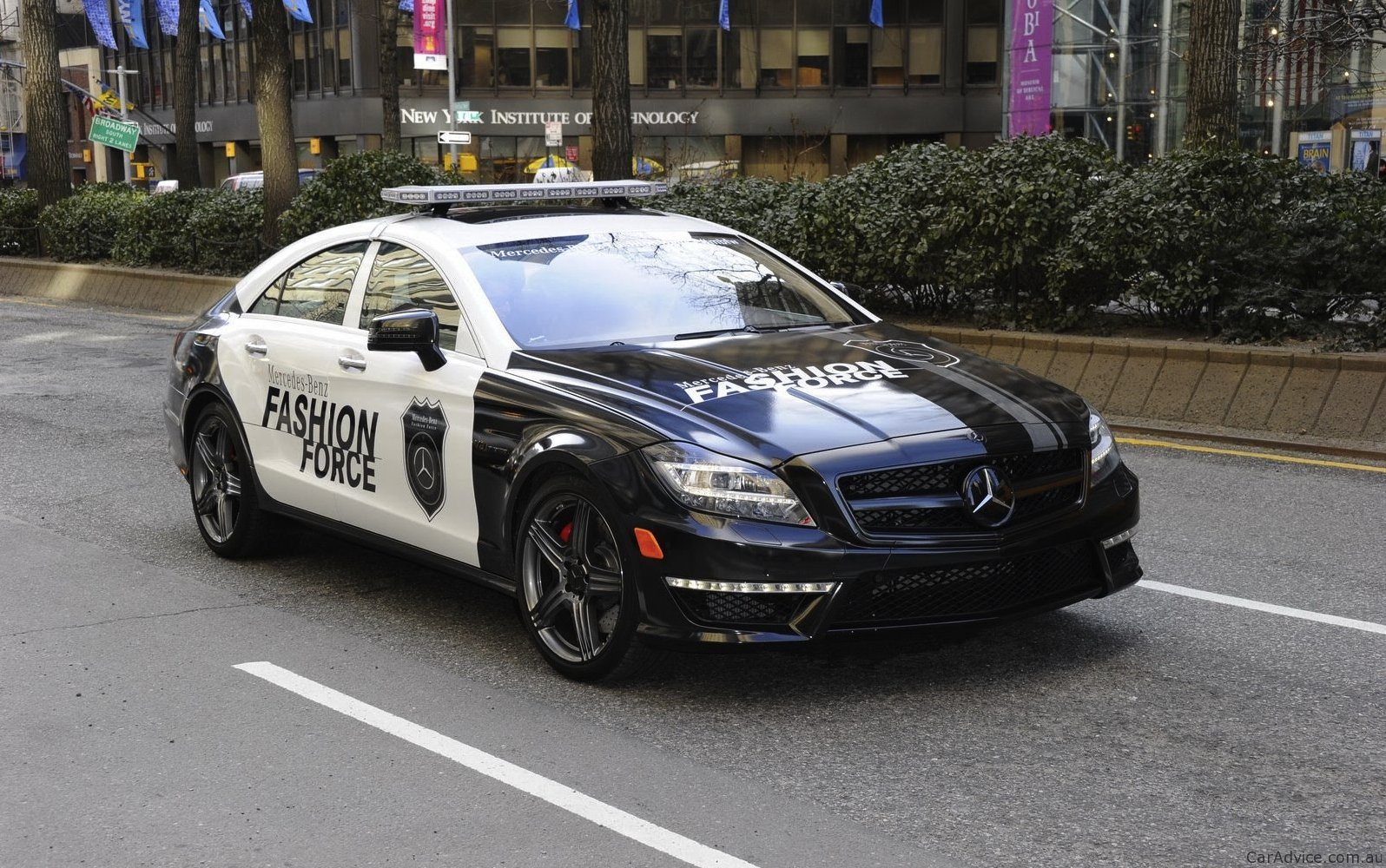 2012 Mercedes Benz Cls63 Fashion Force Patrol Car Photos