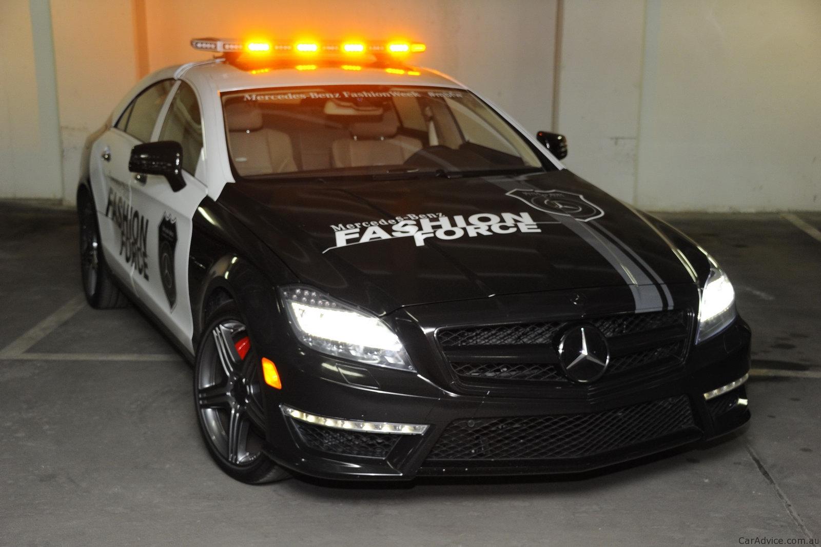 Audi A8 W12 >> 2012 Mercedes-Benz CLS63 Fashion Force patrol car - photos | CarAdvice