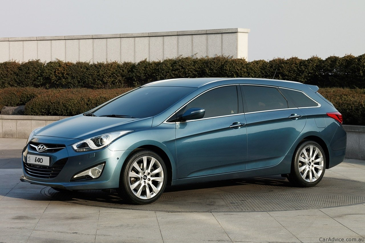 hyundai i40 wagon confirmed for australia photos caradvice. Black Bedroom Furniture Sets. Home Design Ideas