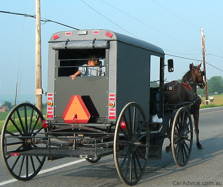 Amish Fighting Unconstitutional Slow Moving Vehicle Law