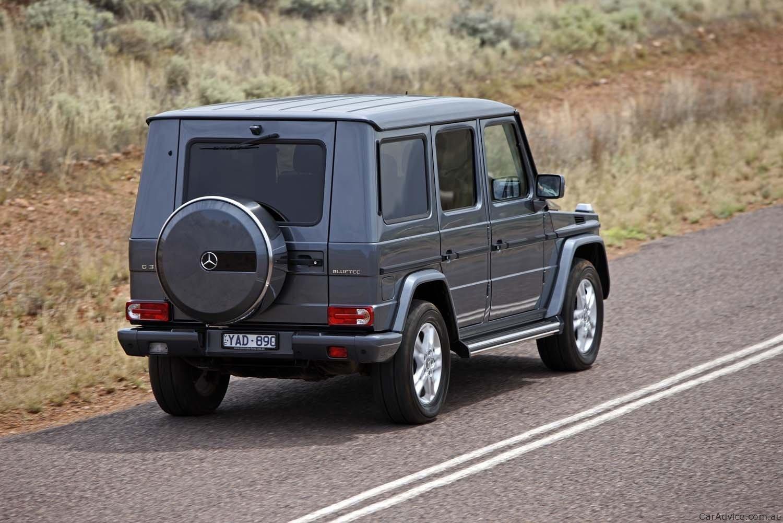 Mercedes Benz G55 Amg Amp G350 Review Photos Caradvice