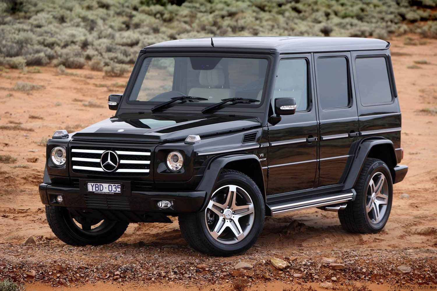 Mercedes Benz G55 Amg Amp G350 Review Photos Caradvice